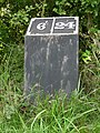 Milepost 6 on the Ashby Canal - geograph.org.uk - 1431466.jpg