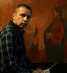 Andrei Mironov In His Studio 2013