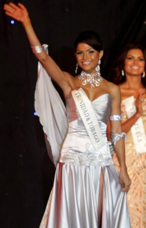 Gabrielle Walcott - Gabrielle during Miss World 2008