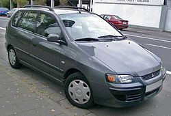 Mitsubishi Space Star front 20071026.jpg