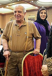 Mohsen Ghazi Moradi and Mahvash Vaghari at 16th Iran's National Day of Cinema.jpg