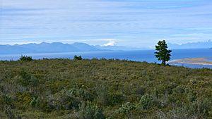 Monte Sarmiento - Monte Sarmiento in the distance.