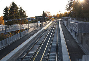 Montebello (station) - Image: Montebello tbane 02
