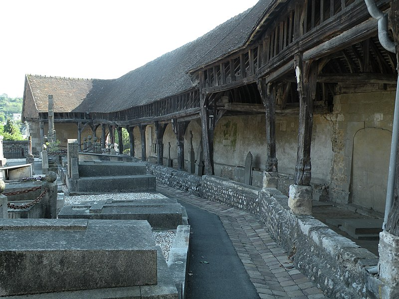 L'aître de Brisgaret à Montivilliers: l'intérieur de la galerie.