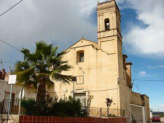 Montortal - Church in Montortal.