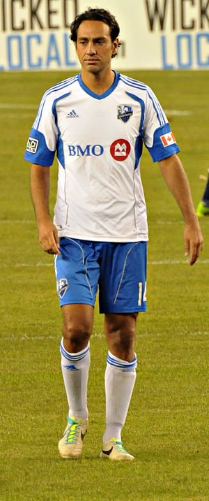 Alessandro Nesta - Nesta playing for the Montreal Impact in 2013