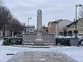 Monument aux morts de Miribel (Ain) en février 2021.jpg