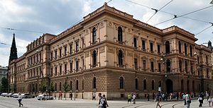Constitutional Court of the Czech Republic - Seat of the Court in Brno.
