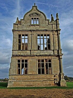 Moreton Corbet - The Elizabethan wing of Moreton Corbet castle