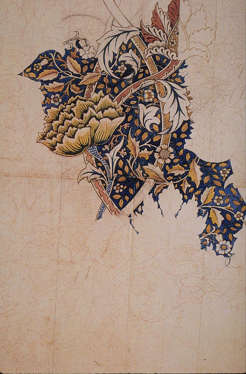 Marginalia @ Cie. - Page 2 800px-Morris_Windrush_textile_design_1881-83