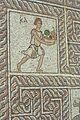 Mosaic, young man bears fruit, AM Delphi, 060058.jpg