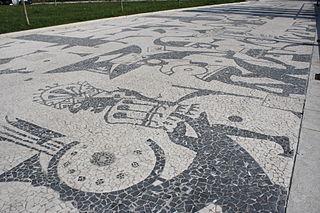 mosaico di Via dei Bambini