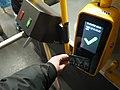 Moscow trolleybus ticket validate (37919052671).jpg