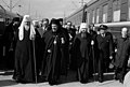 Moskovan ja koko Venäjän patriarkka Pimenin vierailu Helsingissä 2, - 9.5.1973 - N61074 - hkm.HKMS000005-km003wpj.jpg