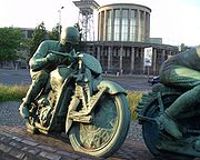Motor cycle racers2 by Max Esser-Mutter Erde fec