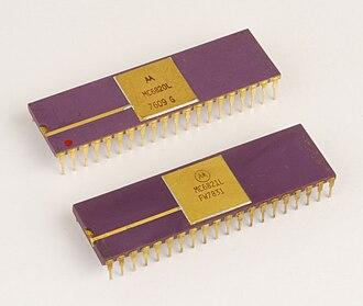 Peripheral Interface Adapter - Motorola MC6820 and MC6821 Peripheral Interface Adapters