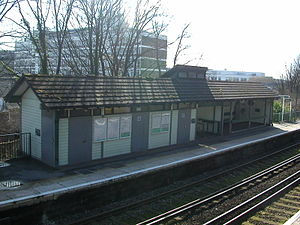 Moulsecoomb railway station - Image: Moulsecoomb Station 01