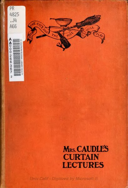 File:Mrs Caudle's curtain lectures.djvu