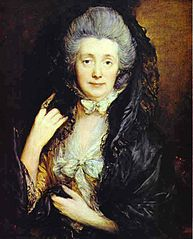 Mrs. Thomas Gainsborough, nee Margaret Burr