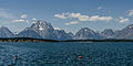 Mt. Moran and Bivouac Peak, Teton Range, East view 20110818 2.jpg