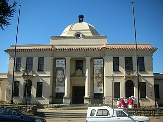 Mthatha - The Nelson Mandela Museum in Mthatha