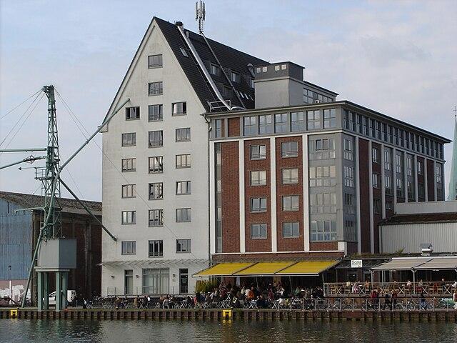Bürogebäude Hafenweg 46-48, in Münster, Westfalen, Deutschland