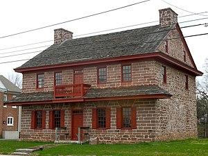 Trappe, Pennsylvania - Muhlenberg House, ca. 1720-1787