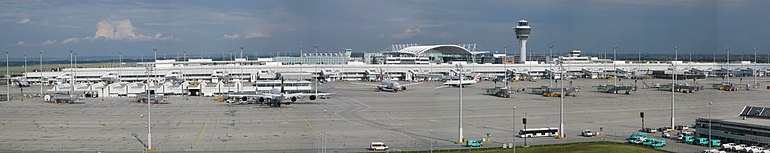 Munich Airport from visitors park.jpg