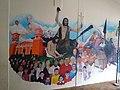 Mural en Casa cural de Parroquia de San Juan Bautista Coscomatepec, Veracruz 01.jpg