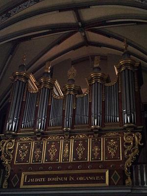Muret - Image: Muret Eglise Saint Jacques Orgue