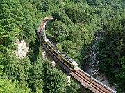 Murgtalbahn Tennetschluchtbruecke Stadtbahn
