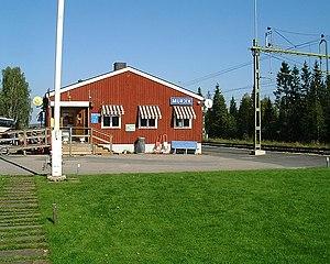 Murjek - The railroad station in Murjek