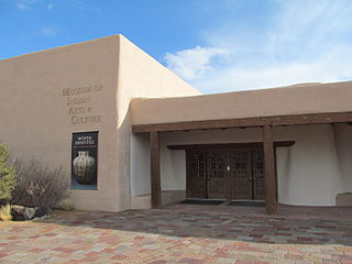 Museum of Indian Arts and Culture Anthropology museum in Santa Fe, New Mexico