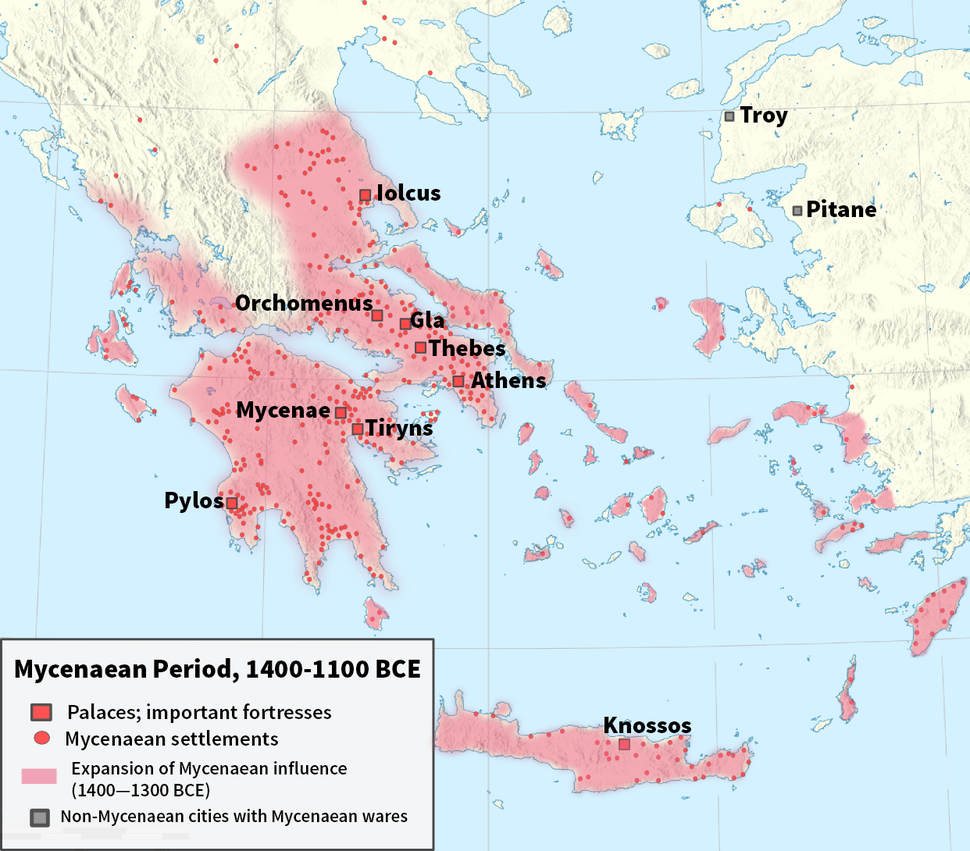 Mycenaean World en