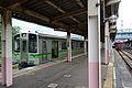 Myoukoukogen station ET127 and shinano railway 115.JPG