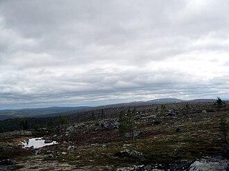 Wilderness areas of Finland - Tsarmitunturi Wilderness Area