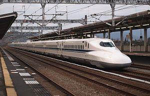 N700 Series Shinkansen - Set G15 in December 2015