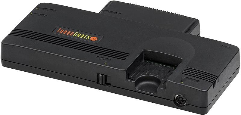 800px NEC TurboGrafx 16 Console FL
