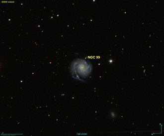 NGC 99 - SDSS image of NGC 99