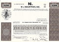 NL Industries (Dutch Boy Paint) Specimen Stock Certificate, c.1975.jpg