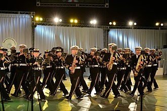 Military tattoo - JSDF Marching Festival 2013