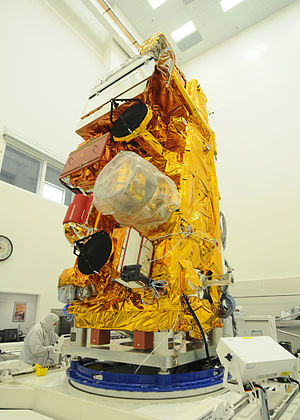 Suomi NPP - Suomi NPP in the cleanroom before launch