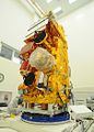 NPP satellite in cleanroom.jpg