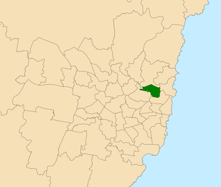 Electoral district of Willoughby state electoral district of New South Wales, Australia