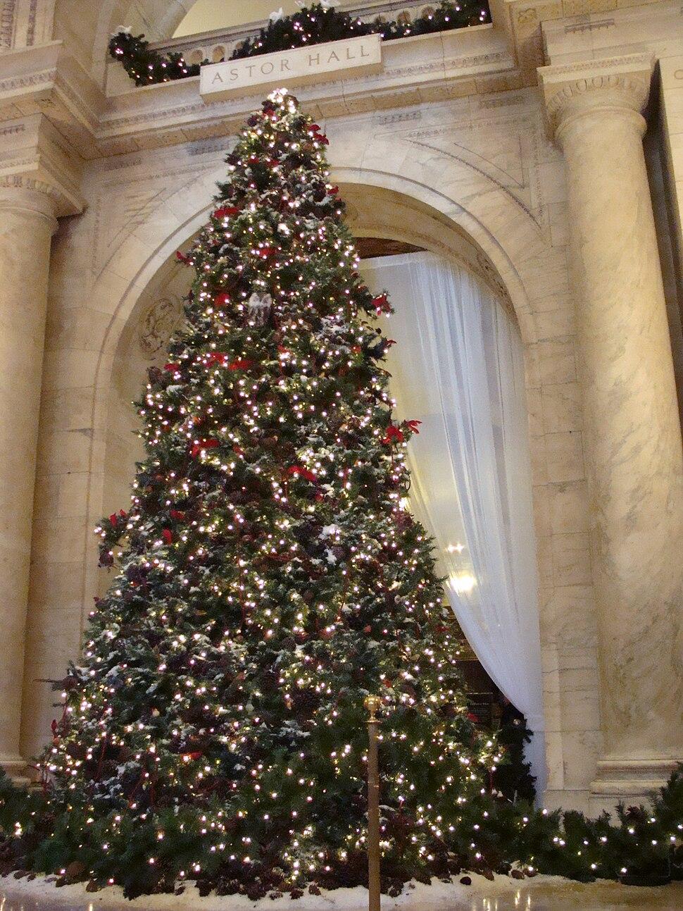 NYPL Christmas