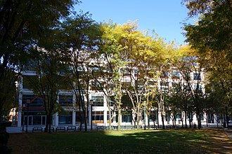 New York University - Bern Dibner Library of Science and Technology on the Brooklyn campus