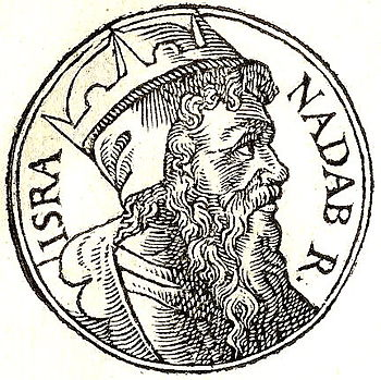 English: Nadab of Israel was the second king o...