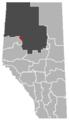 Nampa, Alberta Location.png