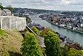 Namur Blick von der Zitadelle auf die Maas 13.jpg