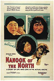 Nanook of the North movie poster.